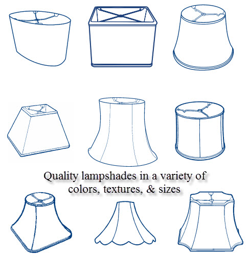 Different Types of Lampshades